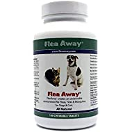 Flea Away All Natural Flea, Tick, Mosquito Repellent for Dogs & Cats, 100 Chewable Tablets, Single