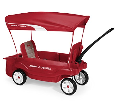Radio Flyer Ultimate Comfort Wagon (Storage Radio Plastic Flyer)