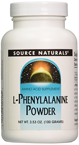 Source Naturals L-Phenylalanine, Powder, 100 Grams