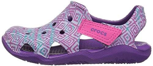 Pictures of Crocs Kids' Swiftwater Wave Graphic Sandal * 5