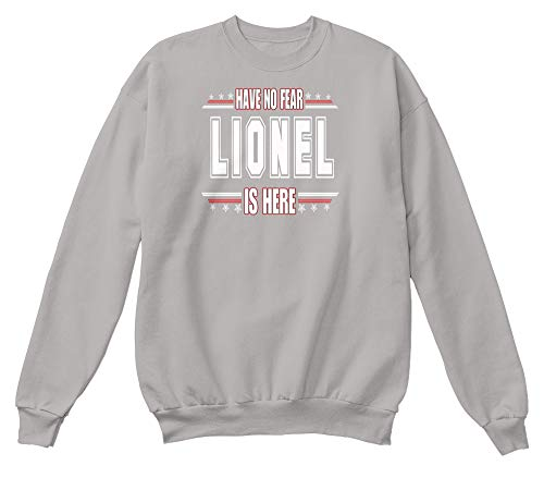 Have no. 2XL - Light steel Sweatshirt - Hanes Unisex Crewneck Sweatshirt (All In The Family Lionel The Live In)