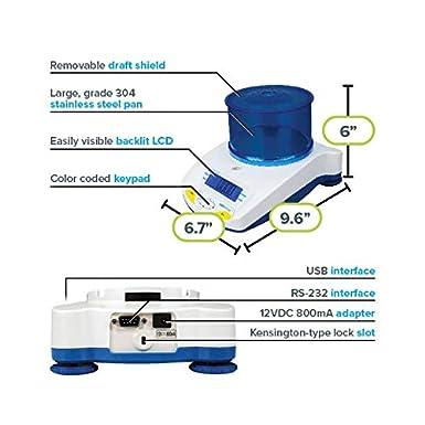 1g Readability Adam Equipment HCB 3000 Highland Portable Precision Balance 3kg Capacity