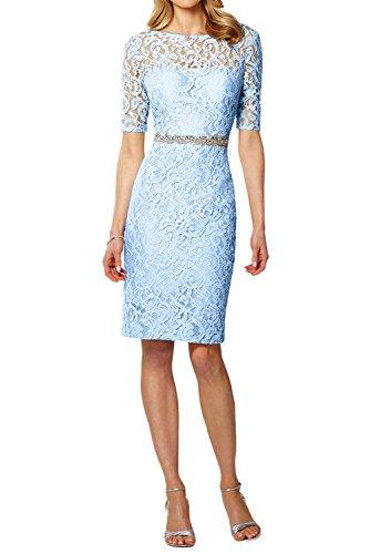 Topkleider mujer Vestido Estuche azul claro para Y8R6qwY