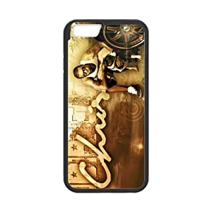 Cyber Monday Store Customize Rubber Chris Brown Back Cover TPU Case for 4.7
