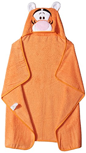 Disney Baby TIGGER Puppet Hooded Towel, Orange (Baby Tigger)