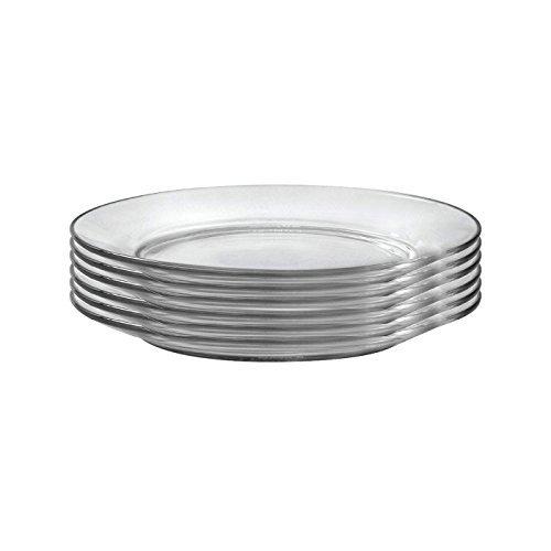 Duralex Dessert-Teller Lys, 19 cm, 6 Stück