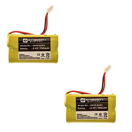 Vtech CS6129-52 Cordless Phone Battery Combo-Pack Includes: 2 x SDCP-C323 Batteries by Synergy Digital