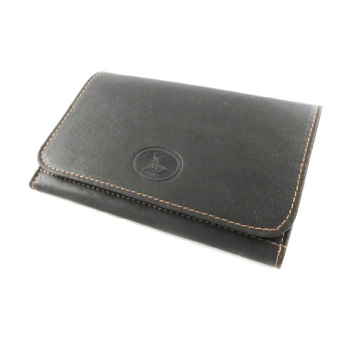 brown 'Frandi' leather Wallet leather 'Frandi' brown genuine Wallet AwqPYqXnz