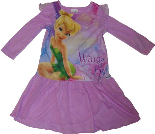 Disney Fairies Tinker Bell Princess Nightgown Lavender 2T