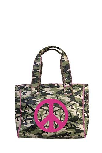Borsa Tracolla Ritmo Caco Di A Piccola Donna Design Shopper Mimetico wffCqIExAc