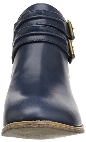 Brinley Co Womens Spiro Ankle Boot Blue lkgVN6