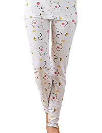 Women's Combed Cotton Raschel Knit Thermal Underwear Pant