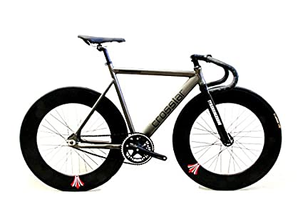 Amazon.com : Crosstar Tyrans T2 Fixed Gear Bike Urban Track Bike ...