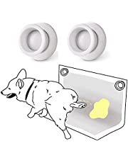 MYMOON HOME Pee Pad Holder for Dogs (2 Pack) Dog Potty Training Pad for Leg-Lifting Marking Dogs - Use with Any Size Puppy Wee Wee Pads - Stick on Any Flat Surface, Strong Magnets