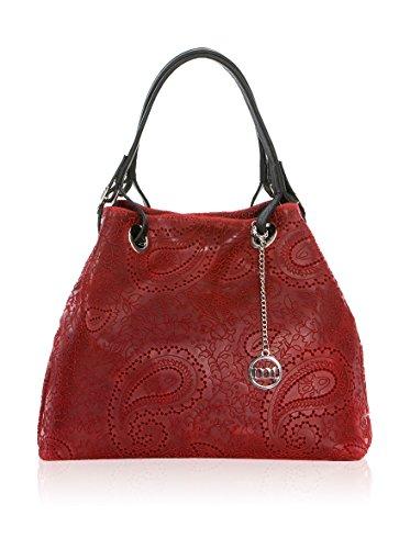Mia Wb125126-Grigio (16), Borsa a spalla donna rosso rosso