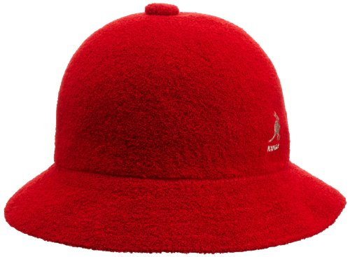 Kangol Men's Bermuda Casual, Scarlet, Large