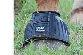 Cashel Company Rubber Horse Bell Boots L (Bell Boots For Horses)