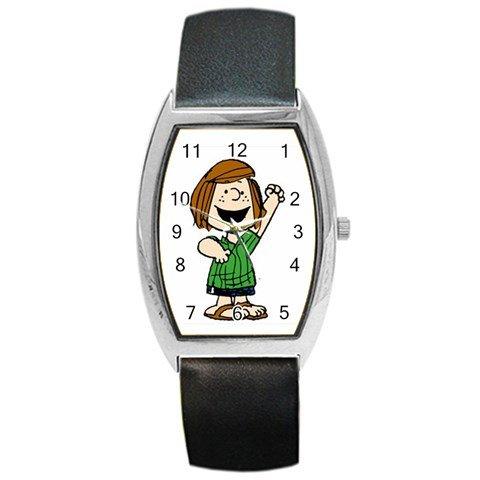 Snoopy Peppermint Patty Barrel Style Metal -