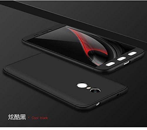 Xiaomi Redmi Note 4X / Redmi Note 4 Funda - BCIT Funda Xiaomi Redmi Note 4X / Redmi Note 4 360 Grados Integral Para Ambas...
