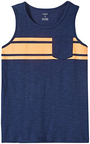 (Carter's Boys' Knit Tee 263g457, Navy, 4 )