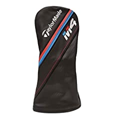 NEW TaylorMade M4 Leather Fairway Wood Headcover Brand: TaylorMade Model: M4 Fairway 3/4/5/7/X Wood Headcover Color: Black/Red/Blue Condition: NEW! SKU: TAMA4589 *****FAST SHIPPING*****