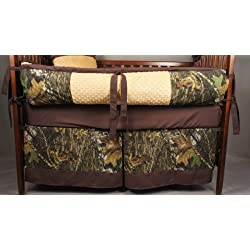 Custom Made Baby Crib Bedding Mossy oak break up Camo