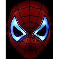 Maske Işıklı Spiderman Örümcek Adam Maskesi Kaliteli Ürün