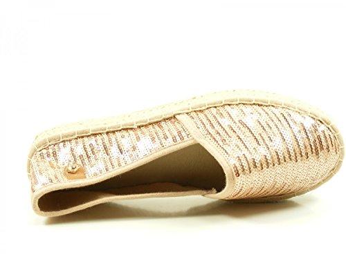 Tamaris 1-24602-28 Zapatillas con cordones para mujer Rosa