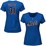 Mike Piazza New York Mets #31 MLB Women's Cooperstown Player T-shirt (Small)