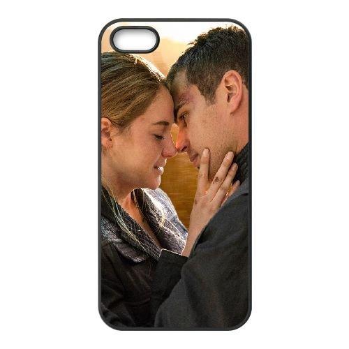 Divergent 2014 Beatrice Pryor Tobias Eaton Shayleen Woodley Theo James coque iPhone 5 5S cellulaire cas coque de téléphone cas téléphone cellulaire noir couvercle EOKXLLNCD23253