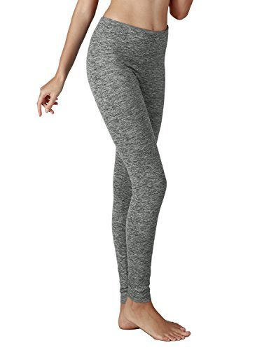 b96e635b148bb6 Yoga Reflex Women's Active Yoga Running Pants Workout Leggings – Hidden  Pocket , Grayheather , XXX