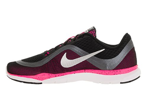 Nike Air Max 90 ID, Scarpe Sportive Uomo Black/Metallic Silver-Pink Blast