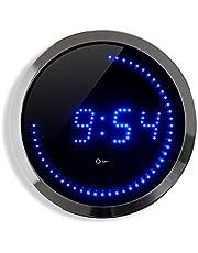 Orium Klok, LED, 30 cm, blauw