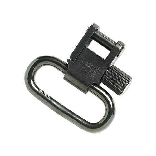 Uncle Mike's QD 115 Bolt Action Machine Screw Type Sling Swivels (Blued, 1-1/4-Inch Loop)