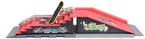 ..MEGA Skate Park Ramp Parts for Tech Deck Fingerboard Finger Board - 1