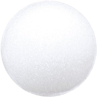 Floracraft. BA4/3SHT Styrofoam Balls Craft Supplies, 4-Inch, White, 3-Pack