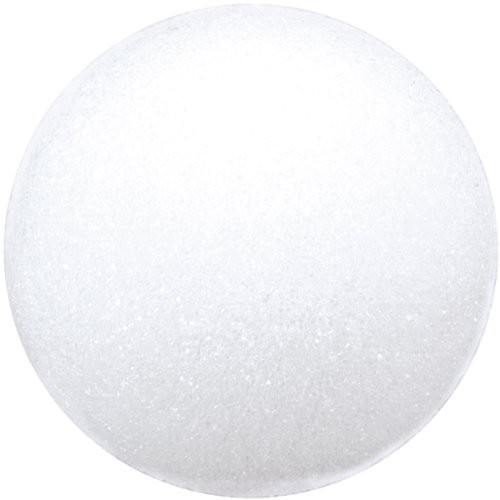 Floracraft BA4/3SHT Styrofoam Balls Craft Supplies, 4-Inch, White, 3-Pack