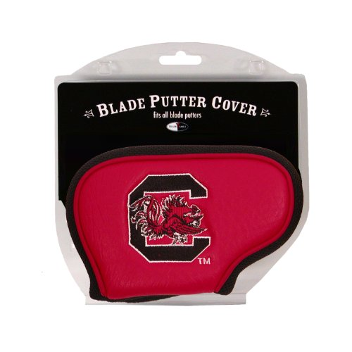 Team Golf NCAA South Carolina Gamecocks Golf Club Blade Putter Headcover, Fits Most Blade Putters, Scotty Cameron, Taylormade, Odyssey, Titleist, Ping, Callaway