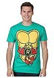 mighty fine clothing - I Am Raphael TMNT Costume T-Shirt - XL