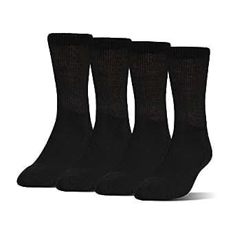 Amazon.com: MediPeds Adult's Coolmax Extra Wide Crew Socks