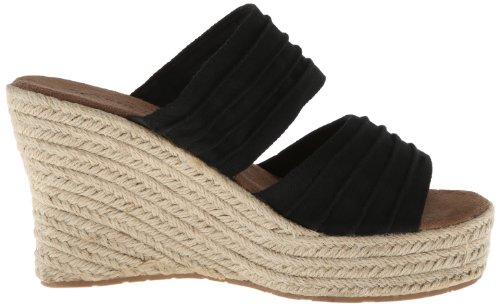 Bearpaw Womens Primrose Ankle-High Fabric Sandal Black 1OvY9W