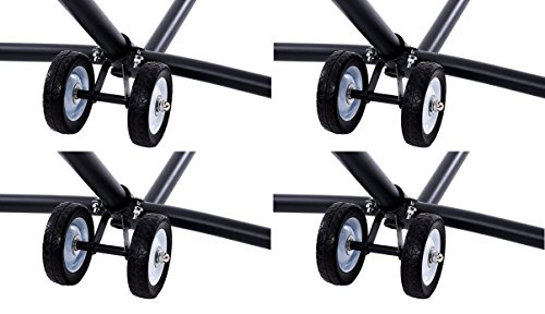 (Vivere WHEEL Hammock Stand Wheel Kit (4 Kits))