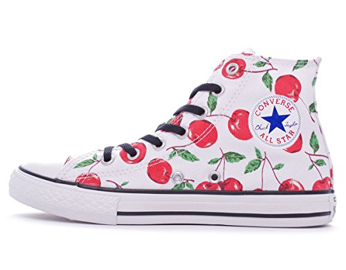 Graphic Canvas Converse Taylor Bianco Mixte High Sneaker Toile Blanc Adulte Chuck Hi xUx7qFS