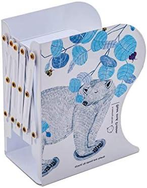 Aktenhalter Retractable Buch stehen Buchhalter Studentenspeicherbücherregal Aktenhalter Folding (Farbe: A) Xping (Color : B)
