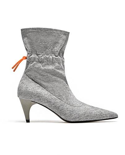 19c1b918556 Zara Women Fabric high heel ankle boots 1109 301 (35 EU