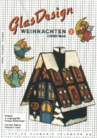 GlasDesign Christmas 2 Stained Glass Pattern Book