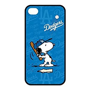2015 customized SUUER Los Angeles Dodgers Custom Hard CASE for iPhone 5 5s Durable Case Cover