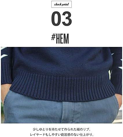 5ゲージ オルテガ セーター メンズ 03.グレー M