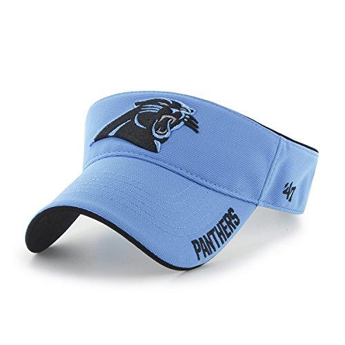 UPC 888442783534, NFL Carolina Panthers '47 Top Rope Adjustable Visor, One Size Fits Most, Glacier Blue