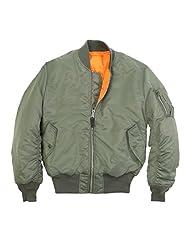 Alpha Industries Men's MA-1 Flight Jacket sage